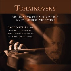 Pyotr Ilyich Tchaikovsky - Violin Concerto In D Major - David Oistrakh - 180g HQ Vinyl LP