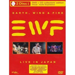 Earth, Wind & Fire - Live In Japan DVD+CD