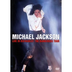 Michael Jackson - Live In Bucharest - The Dangerous Tour - DVD
