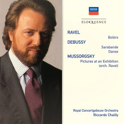 Maurice Ravel / Debussy / Mussorgsky - Bolero / Sarabande / Pictures at an Exhibition - CD