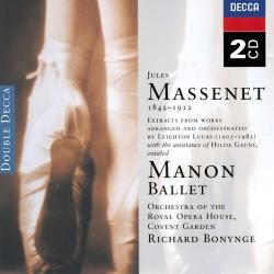 Jules Massenet - Manon Ballet - 2 CD