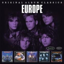 Europe - Original Album Classicss - 5 CD Vinyl Replica