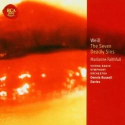 Marianne Faithfull - Seven Deadly Sins - CD
