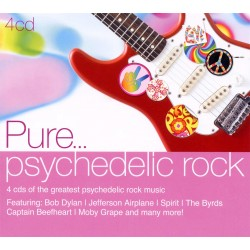 Various Artists - Pure... Psychedelic Rock - 4 CD Digipack