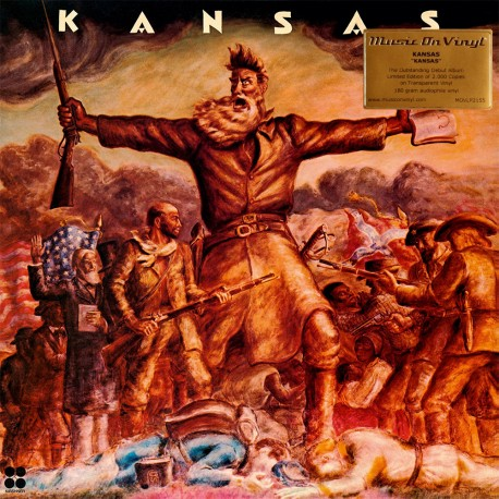 Kansas - Kansas - 180g HQ Coloured Vinyl LP