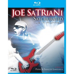 Joe Satriani - Satchurated: Live In Montreal - 3D Blu-ray
