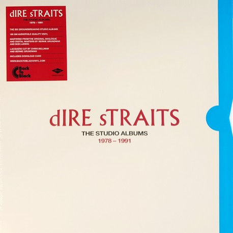 Dire Straits - The Studio Albums - Collector Edition - 180g HQ Vinyl 8 LP