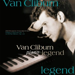 Pyotr Ilyich Tchaikovsky - Piano Legend Van Cliburn - Piano Concerto No.1 - 180g HQ Vinyl