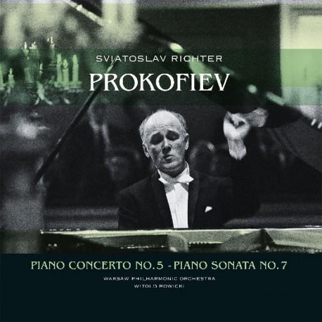 Serghei Prokofiev - Sviatoslav Richter - Piano Concerto No. 5 / Piano Sonata No. 7 - 180g HQ Vinyl