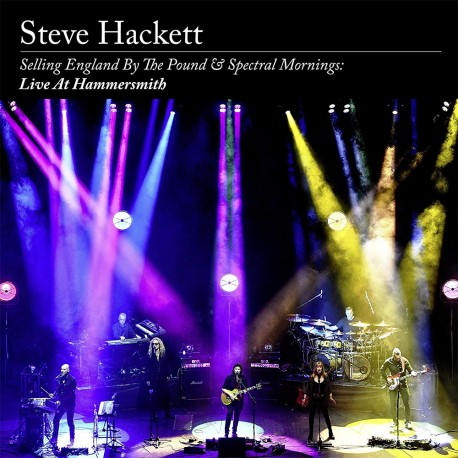 Steve - Hackett - Selling England By The Pound & Spectral Mornings - Live At Hammersmith - Ltd. Edition 2 CD + Blu-ray Digipack