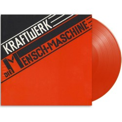 Kraftwerk - Man-Machine - 180g HQ Translucent Red Vinyl LP