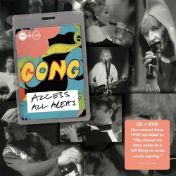 Gong - Access All Areas - CD + DVD