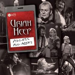 Uriah Heep - Access All Areas - CD + DVD