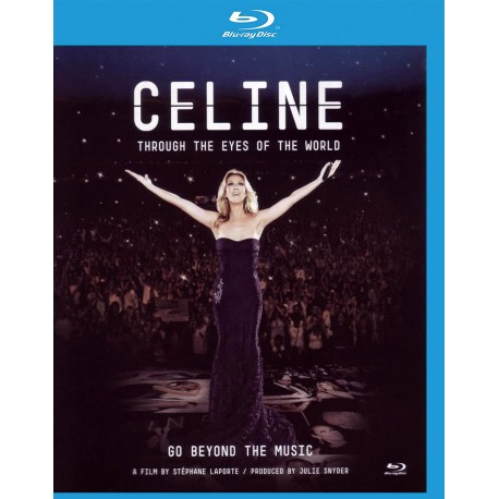 Céline Dion - Through the Eyes of the World - Blu-ray