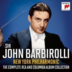 Sir John Barbirolli / New York Philharmonic Orchestra - The Complete Rca And Columbia collection 1938-1942 - 6 CD