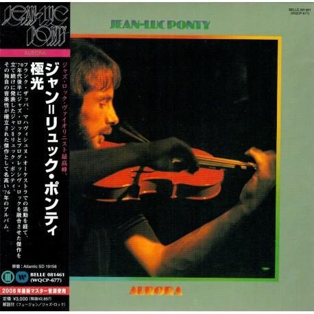 Jean-Luc Ponty - Aurora - Japan Ltd. Edition Cardboard Sleeve - CD