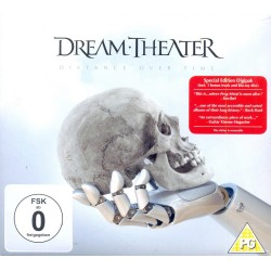 Dream Theater - Distance Over Time - Blu-ray + CD Digipack
