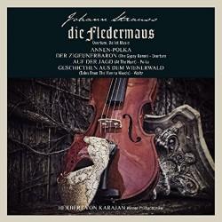 Johann Strauss - Herbert Von Karajan - Die Fledermaus a.o. - 180g HQ Vinyl LP