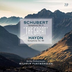 Franz Schubert / Franz Joseph Haydn - Wilhelm Furtwangler - Symphony No. 9 / Symphony No. 88 - 180g HQ Vinyl 2 LP