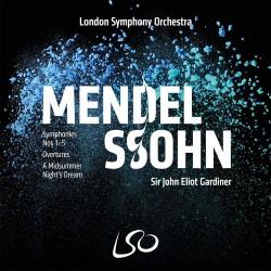 Felix Mendelssohn-Bartholdy - Symphonies No. 1-5 - 4 SACD + Blu-ray
