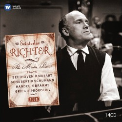 Sviatoslav Richter - Icon: The Master Pianist - Box 14 CD Vinyl Replica