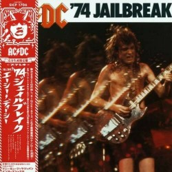 AC/DC - Jailbreak '74 - Ltd. Japan CD Vinyl Replica