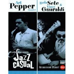 Art Pepper / Bola Sete & Guaraldi, Vince - Jazz Casual - DVD