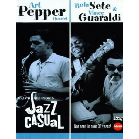 Art Pepper / Bola Sete & Guaraldi, Vince - Jazz Casual - DVD