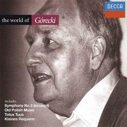 Henryk Górecki - World Of Henryk Górecki - Symphony No. 3, Old Polish Music a.o. - CD