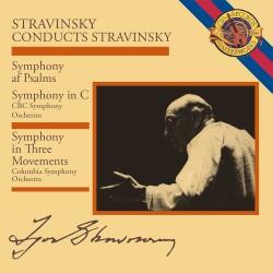 Igor Stravinsky - Conducts Stravinsky - Three Movements / Symphony In C / Symphony Of Psalms - CD