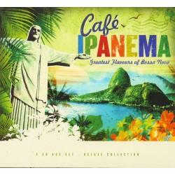 Various Artists - Cafe Ipanema - 3 CD Digipack