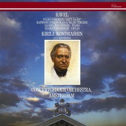 Maurice Ravel - Kondrashin - Piano Concerto For The For the Left Hand / La Valse / Tzigane - CD
