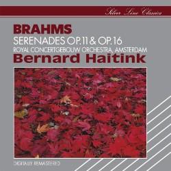 Johannes Brahms - Bernard Haitink - Serenades Op. 11 & Op. 16 - CD