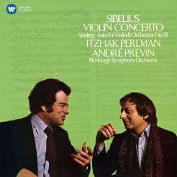 Jean Sibelius / Christian Sinding - Itzhak Perlman - Violin Concerto / Suite In The Old Style - CD