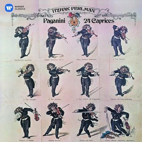 Niccolo Paganini - Itzhak Perlman - 24 Caprices - CD