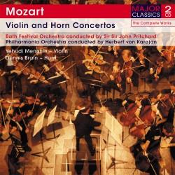 Wolfgang Amadeus Mozart - Violin And Horn Concertos - 2 CD Digipack