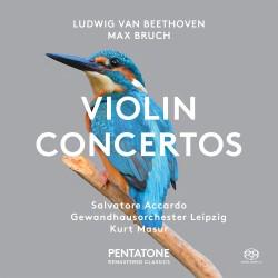 Ludwig van Beethoven / Max Bruch - Violin Concertos - SACD