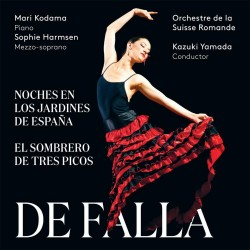 Manuel De Falla - Noches En Los Jardines de Espana - SACD
