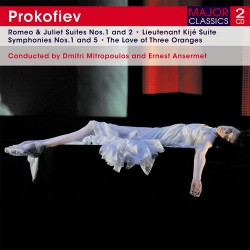 Serghei Prokofiev - Romeo And Juliet Suites - 2 CD Digipack