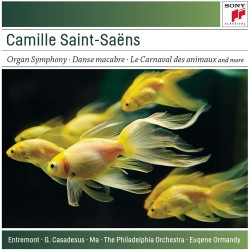 Camille Saint-Saëns / Eugene Ormandy - Organ Symphony / Bacchanale a.o. - CD