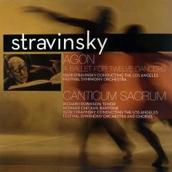 Igor Stravinsky - Agon - A Ballet For Twelve Dancers / Canticum Sacrum - 180g HQ Vinyl LP