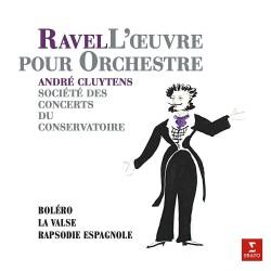 Maurice Ravel / Andre Cluytens - Bolero, Le Valse, Rapsodie Espagnole - 180g HQ Vinyl LP