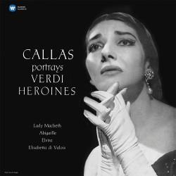 Maria Callas - Callas Portrays Verdi Heroines - 180g HQ Vinyl LP