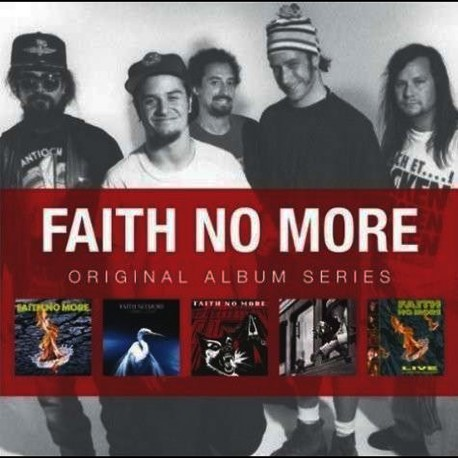 Faith No More - Original Album Series - Box 5 CD Vinyl Replica