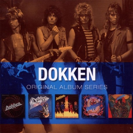 Dokken - Original Album Series - Box 5 CD Vinyl Replica