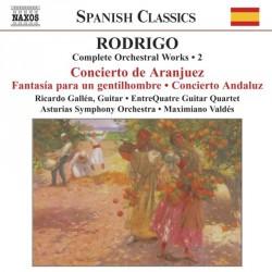 Joaquin Rodrigo - Concierto De Aranjuez / Fantasia para un gentilhombre - CD