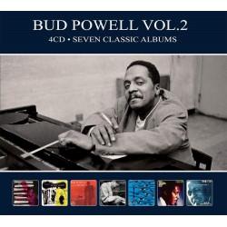 Bud Powell - Seven Classic Albums Vol. 2 - 4 CD Digipack