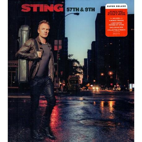 Sting - 57Th & 9Th - Super Deluxe Box CD+DVD