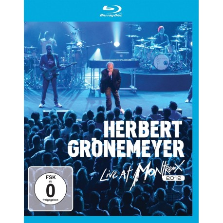 Herbert Gronemeyer - Live At Montreux 2012 - Blu-ray