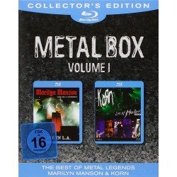 Marilyn Manson - Guns, God And Governement / Korn - Live in Montreux 2004 - Boxset Metal 1 - 2 Blu-ray